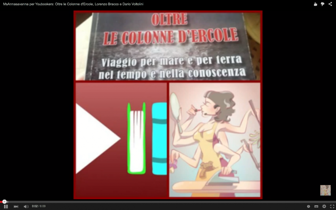 MsAnnasavanna per Youbookers: Oltre le Colonne d'Ercole, Lorenzo Bracco e Dario Voltolini